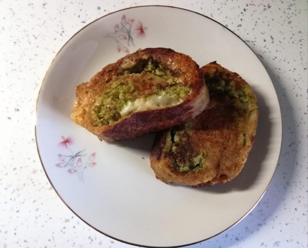 Polpettone di Carne con Broccoli e Provola