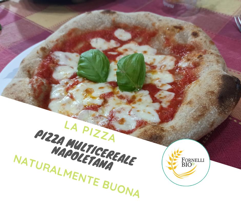 Pizza Multicereale Napoletana fatta in casa