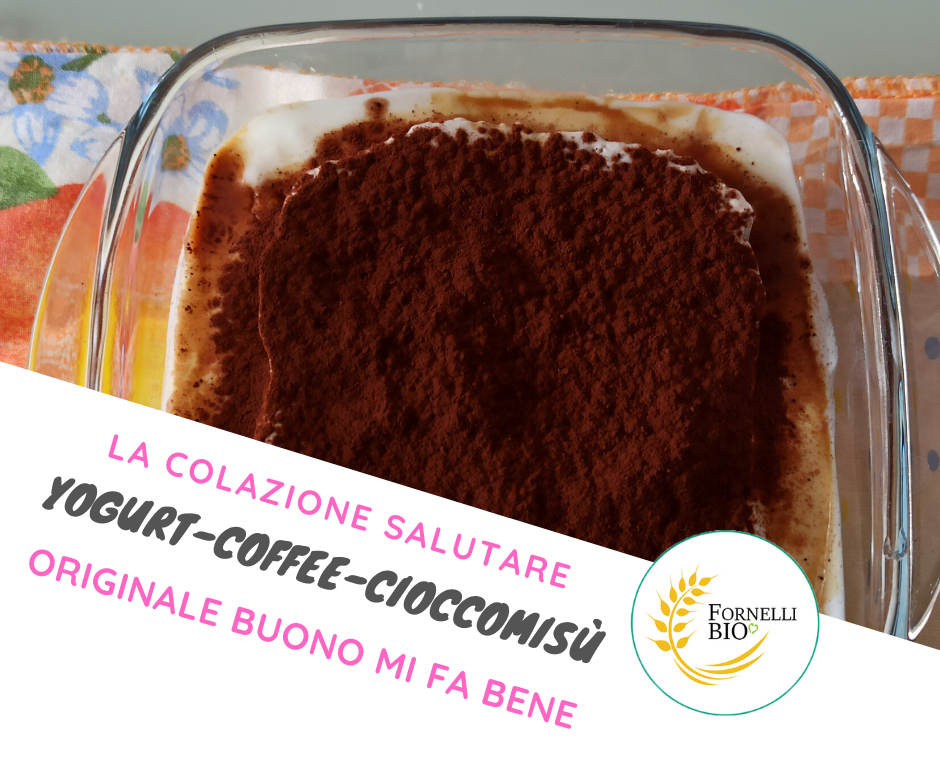 tiramisu yogurt e cioccolato FornelliBio.it